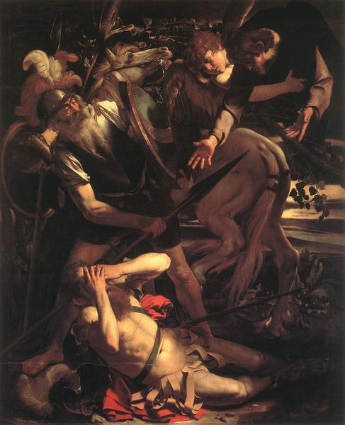 Caravaggio's 'Conversion of St Paul'
