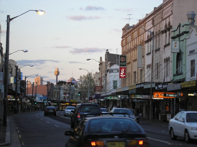 King St, Newtown (Spring 2007)