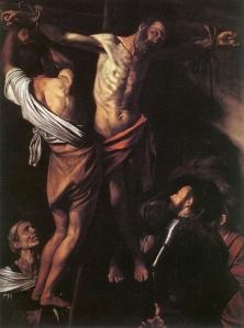 Caravaggio's Crucifixion of St Andrew