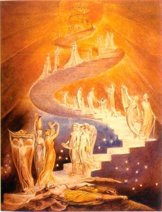'Jacob's Ladder' by William Blake