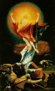 <em>Christ en majesté</em> by Matthias Grünewald (Wikimedia Commons)