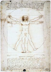 Leonardo da Vinci's 'Vitruvian Man'