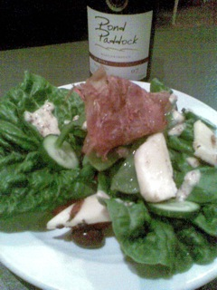 Mmmmm... haloumi salad